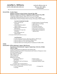 Magnificent Double Major And Minor Resume Pictures Inspiration