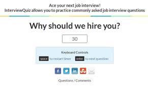 Top 10 Most Common Job Interview Questions Interview Quiz