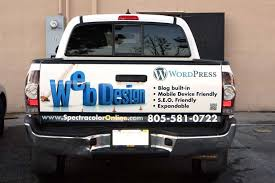 Custom Pickup Truck Tailgate Wraps | Spectracolor in Simi Valley CA
