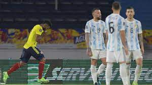 Colombia vs. Argentina – Football Match ...