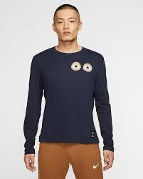 Nike Dri Fit Long Sleeve Size Chart Nike Dri Fit A I R Cody Hudson Mens Long Sleeve T Shirt