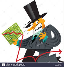 A Man In A Top Hat Carrying A Chart Stock Photo 63176327
