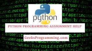 python programming assignment help geeksprogramming