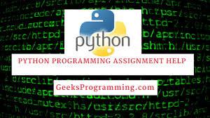 python programming assignment help geeksprogramming