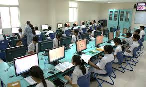 Education Sector in India  Indian Education System  Industry Wikipedia Girls in Kalleda Rural School  Andhra Pradesh