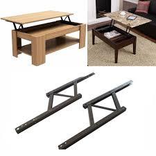 iron lift top coffee table mechanism diy hardware lift up furniture hinge spring