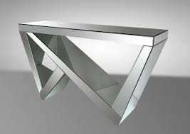 modern mirrored furniture. modern mirrored console table furniture
