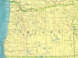 oregon base map