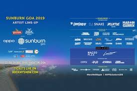 Lover Fest Seating Chart Sunburn Goa 2019 Ticket Offers Booking Price Book