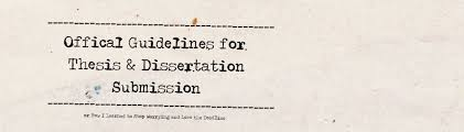 tulane digital repository thesis dissertation guidelines for submission