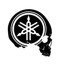 yamaha motorcycle logo. Delighful Logo Yamaha Skull Logo Throughout Motorcycle Logo I