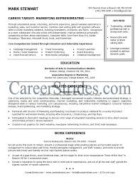 Recent Graduate Resume Example Sample Resumes For Recent College