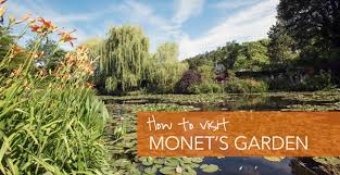 how to visit monet s gardens in giverny france