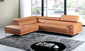 camel leather couch camel color leather sectional