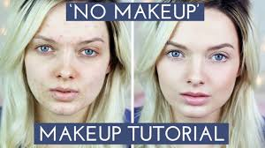 pics of how to look good without makeup when you have acne