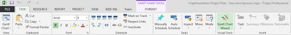 microsoft project gantt chart tutorial