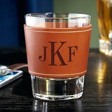 glencairn glass personalized monogrammed whiskey glasses leather wrapped bourbon whiskey glass engraved whiskey glasses home improvement