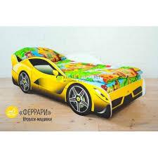 <b>Кровать машина Бельмарко Ferrari</b> - купить недорого / Цена ...