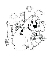 Puppy Dog Pals Coloring Pages Free The Big Red Printable Halloween