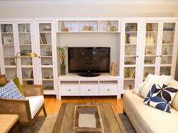 living room builtin shelves  hgtv