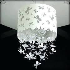 paper mache chandelier new beautiful erfly paper chandelier mobile hanger decoration for paper chandelier white paper