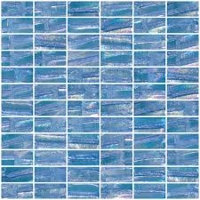 blue subway tile texture. Delighful Subway 1x2 Inch Atmospheric Blue Textured Recycled Glass Subway Tile To Texture U
