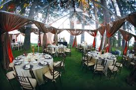 Outdoor Decorating Ideas For Wedding Reception