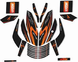Cr Decals Designs Dominar 400 Cr Decals Designs Duke 125 200 390 Motorcycle Design Sticker