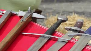Medieval Weapons stock footage. Video of gore, archaic - 49518644