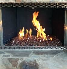 electric fireplace with gl rocks rock indoor fire