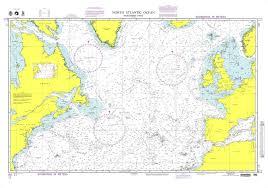 Ocean Charts Nga Chart 11 North Atlantic Ocean Northern Part