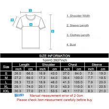 T Shirt Size Chart Us 4 96 68 Off Hanhent Surfboards Size Chart Printed T Shirts Men Cotton Summer Casual Style T Shirt Fitness 2017 Fashion Streetwear Tshirt Man In