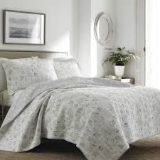 Laura Ashley Bedroom Laura Ashley Home Harmony Coast Quilt Set Reviews Wayfair
