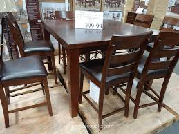 agio 7 piece patio dining set costco mesmerizing costco dining room tables images best picture interior