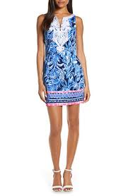 Lilly Pulitzer Size Chart Dresses Lilly Pulitzer Womens Gabby Stretch Shift Dress At Amazon