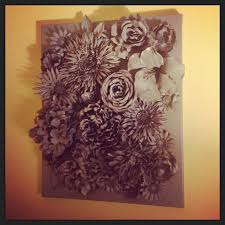 3d flower wall art 3d wall art faux flowers hot glued to canvas spray painted diy on 3d flower wall canvas art with 3d flower wall art 3d wall art faux flowers hot glued to canvas