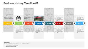 Timeline Slide Template Three Stages Timeline Template For Powerpoint Slidemodel