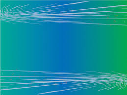 Blue Green Lines Abstract Powerpoint Templates Abstract Blue