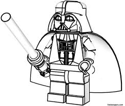 Star Wars Coloring Pages And Book Lego 11327