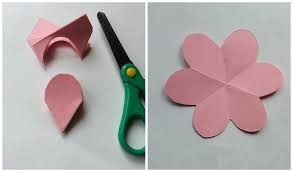 Paper Flower Folding Flower Making With Paper Folding Magdalene Project Org
