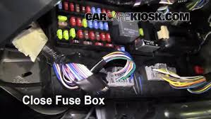 interior fuse box location mercury sable mercury interior fuse box location 2008 2009 mercury sable 2008 mercury sable premier 3 5l v6