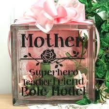 ideas for lighted decorative glass blocks ideas for lighted decorative glass blocks crafts mother vinyl glass