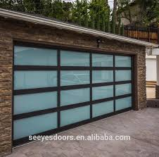 8x7 Clear Glass Garage Door Door Suppliers And Manufacturers At Alibabacom