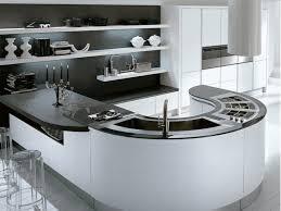 modern curved kitchen island. Interesting Island Modern Curved Kitchen Island Divine Designs In E