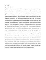 essay winter break khanh tran english this is my first winter  1 pages young goodman brown