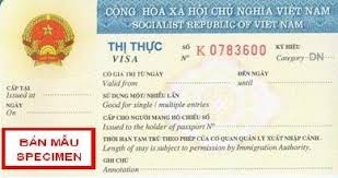 Vietnamese Visa Types And Validity 2019 20 Main Visa