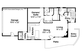 contemporary house plan parkview 30 905 1st floor plan