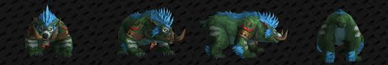 Troll Druid Color Chart Troll Druid Forms Guides Wowhead