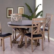 round dining room table images. elements international laramie round dining table room images