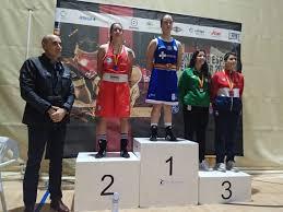 File:Alba Bustos, en el número uno del podium del Campeonato de ...